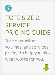 reFUSE Totes Sizing and Pricing